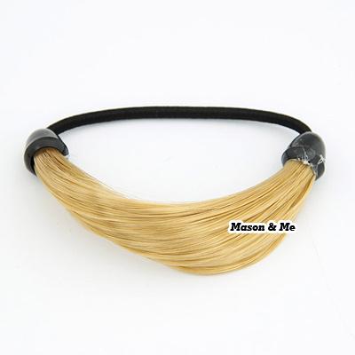 Wig Dan Hair Extension Korean fashion fake hair personality elastic charm design hair band hair accessories N76CBB