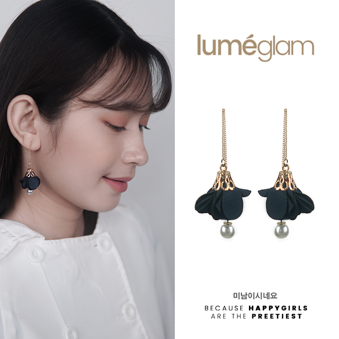Anting Korea Simple small fresh flowers earrings AGS007