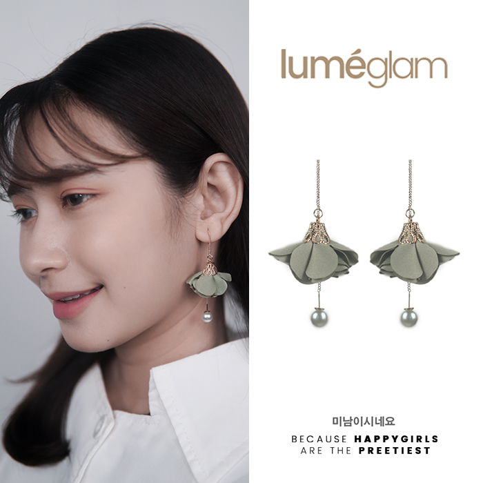 Anting Korea Simple small fresh flowers earrings AGS008