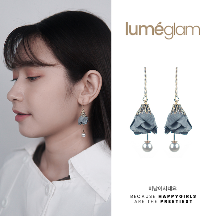 Anting Korea Simple small fresh flowers earrings AGS009