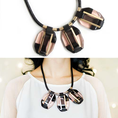 MARNI 3 Shape Necklaces JLR018