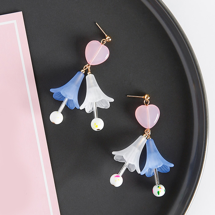 Anting Flower loving temperament earrings JUL350