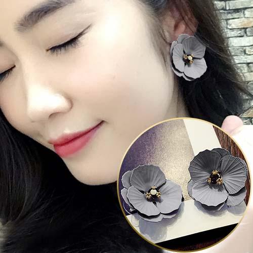 Flower Diamond Earrings JUN294
