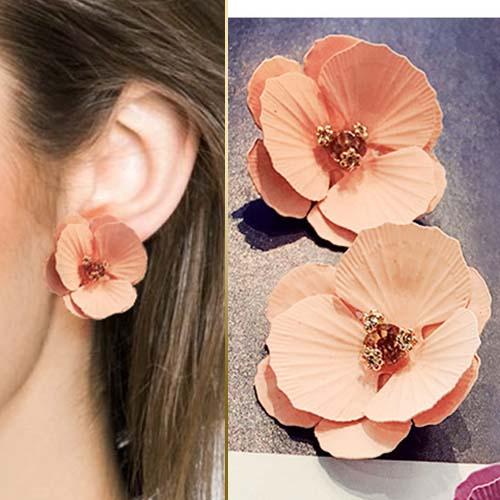 Flower Diamond Earrings JUN296