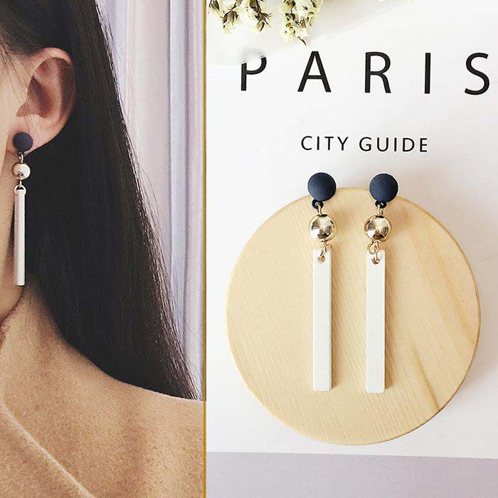Anting Minimalist striped earrings DES203