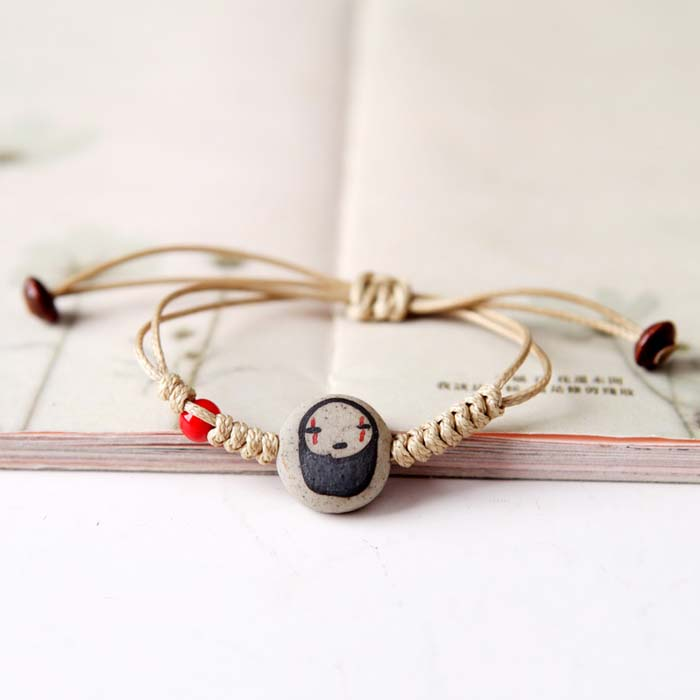 Gelang Fashion woven ceramic bracelet J4U193