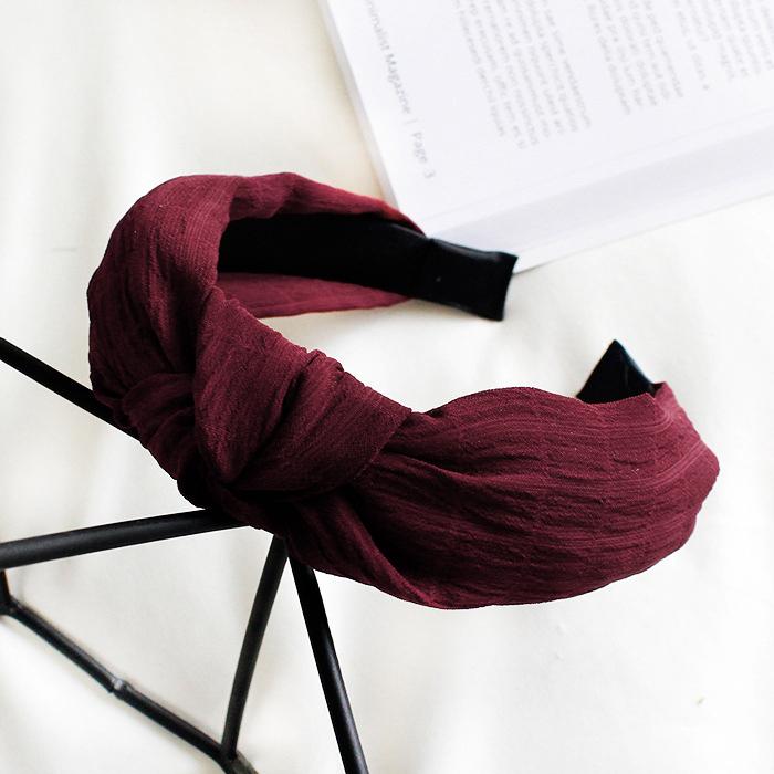 Simple wide brimmed headband J4U453