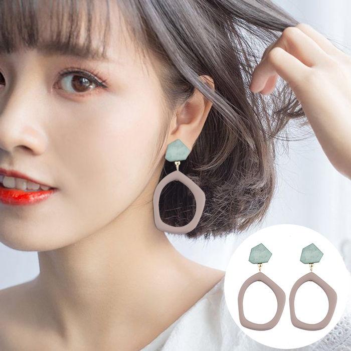 Anting Korea multi-layer earrings simple earrings Bohemian Europe and the United States  JUL571