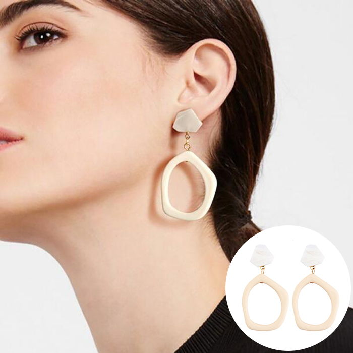 Anting Korea multi-layer earrings simple earrings Bohemian Europe and the United States  JUL572