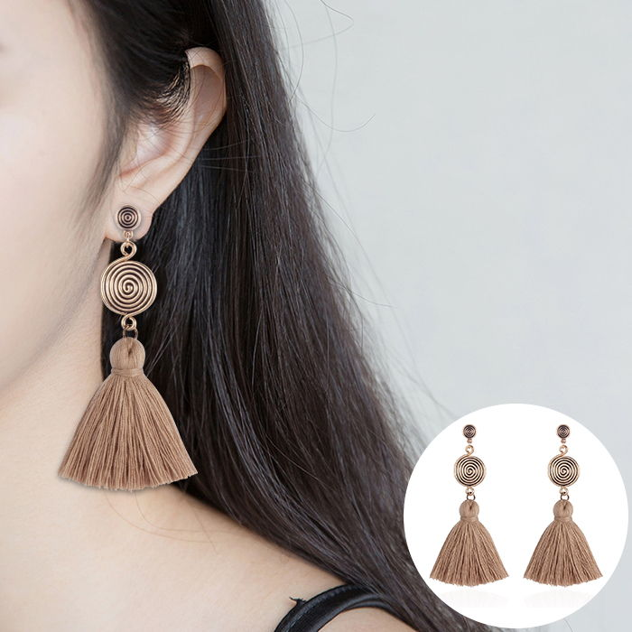 Anting Korea Bohemian new popular earrings  JUL580