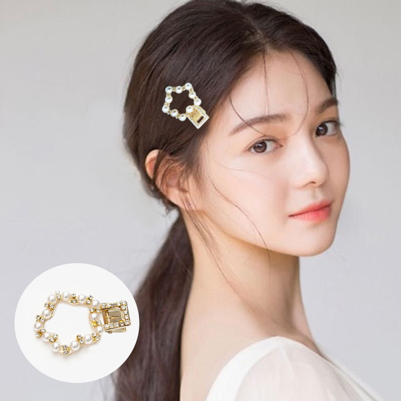 Jepitan & Sirkam Ins hairpin network red word explosion models Korea pearl M4Y109