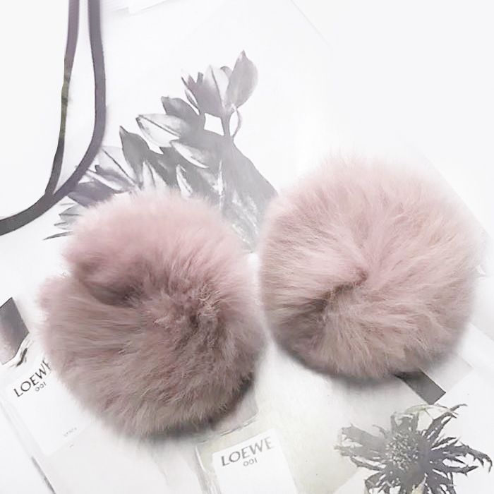 Anting Sweet PomPom earrings NOV047