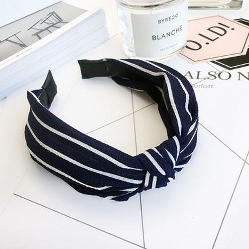 Bando & Ikat Rambut knot fabric wide edge hair band OKT425