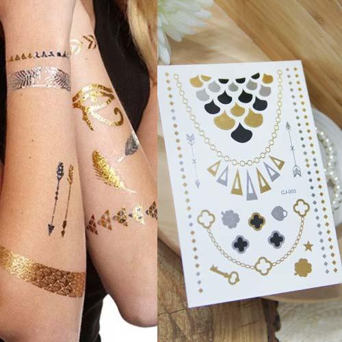 Home Health & Beauty Golden Tattoo T4TT22