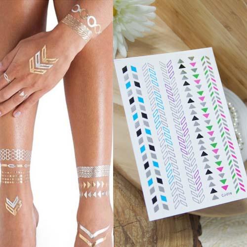 Home Health & Beauty Golden Tattoo T4TT23
