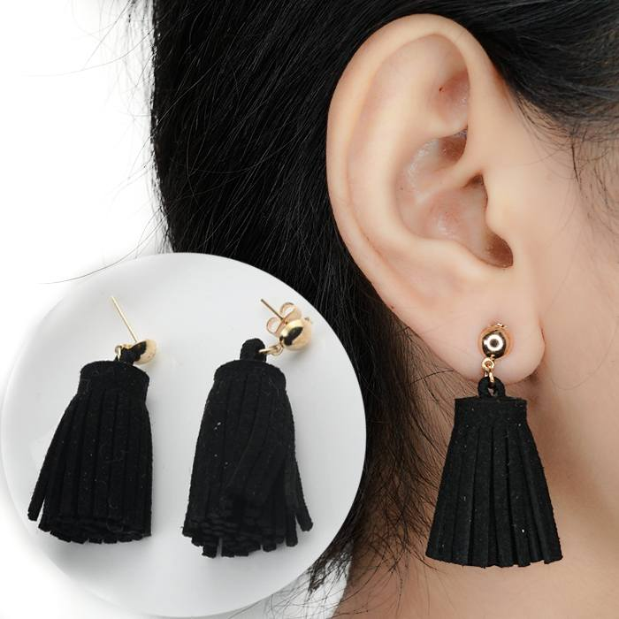 Anting Pu Leather Earrings Bohemian AP2198