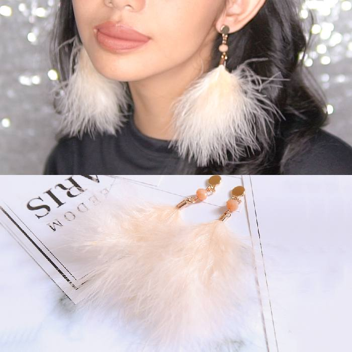 Anting Feather Earrings AP2220