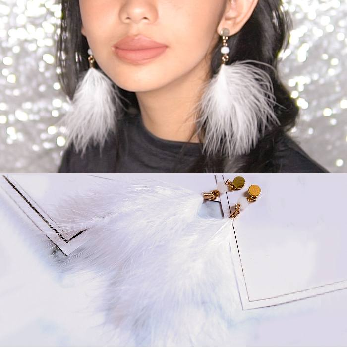 Anting Feather Earrings AP2221