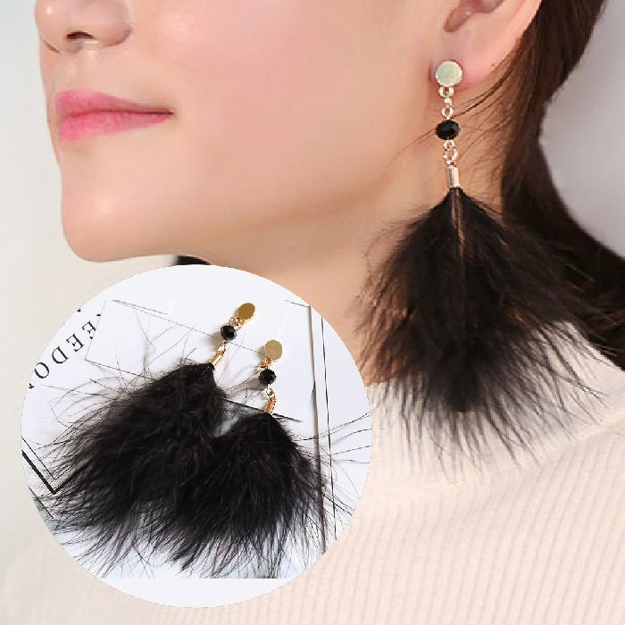 Anting Feather Earrings AP2223