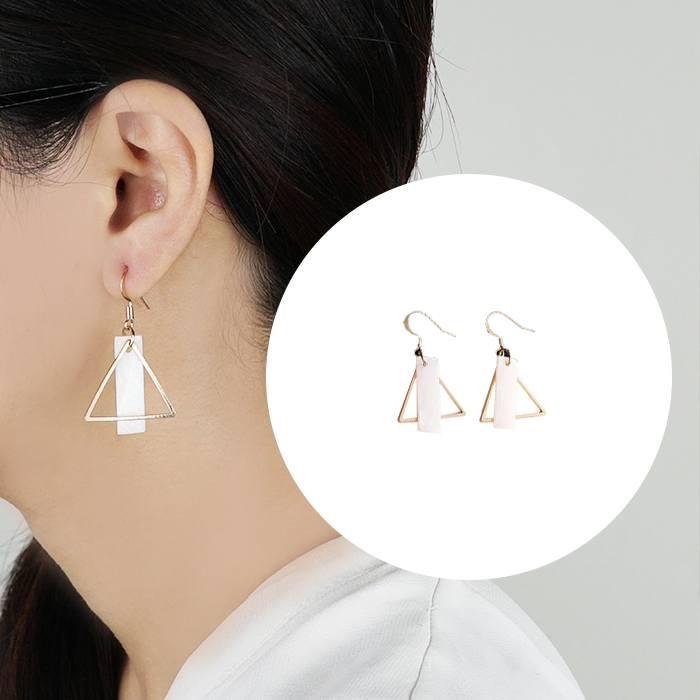 Anting Triangle Earrings Long Ear Hook Small AP2351