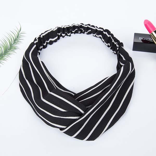 minimalist fabric pattern headband AP3018