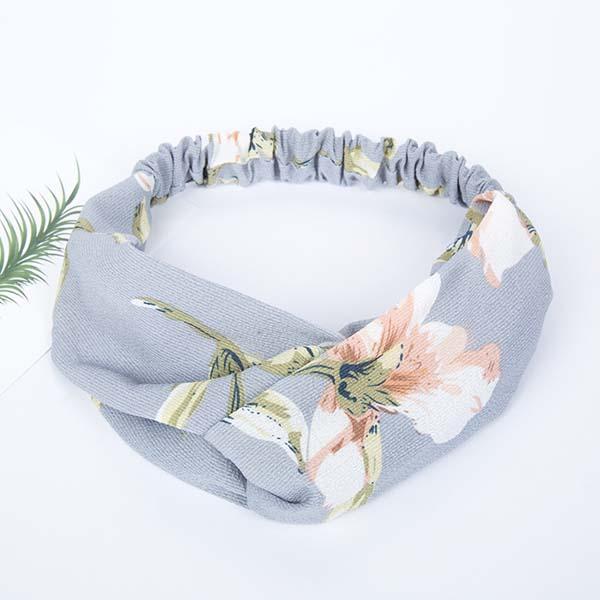 minimalist fabric pattern headband AP3019