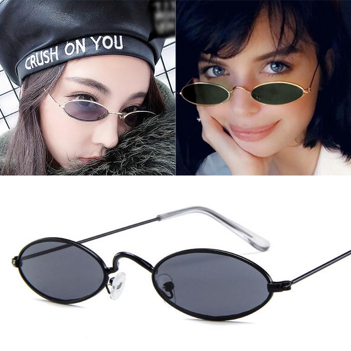 Kacamata Minimalist oval Sunglasses AP3095