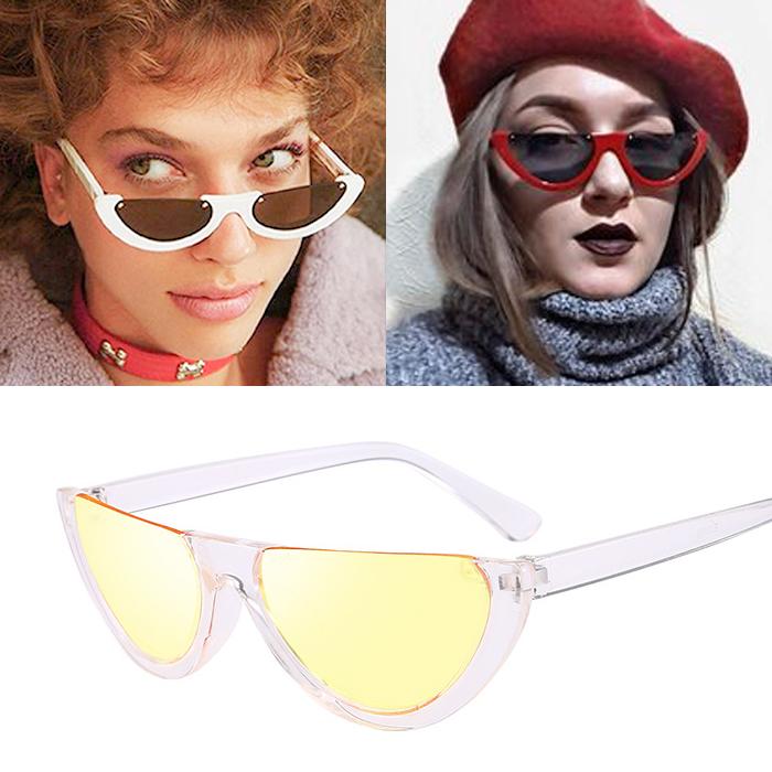 Kacamata Half frame cat eyes Sunglasses AP3143