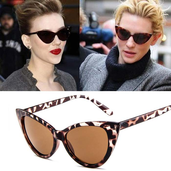 Retro cat eye big frame sunglasses AP3160