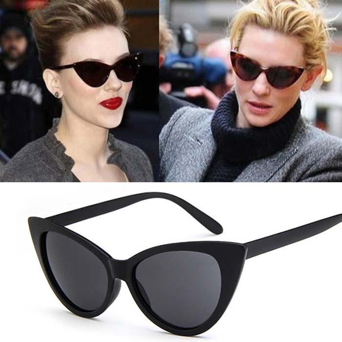 Kacamata Retro cat eye big frame sunglasses AP3163