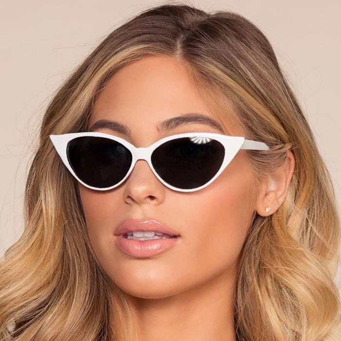 Kacamata Retro cat eye small frame sunglasses AP3164