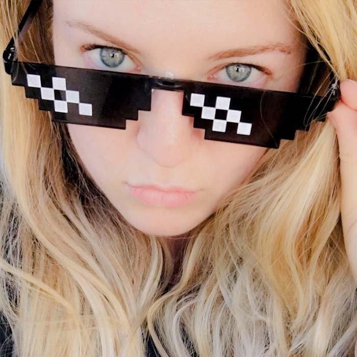 Kacamata Thug Life six square sunglasses AP3187