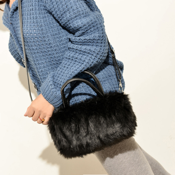 Tas Messenger bag small hairy handbag AP3189