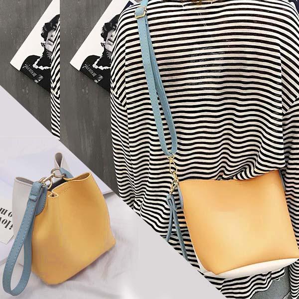 Messenger bag bucket shoulder bag AP3205