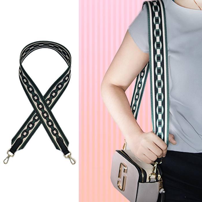 Tas Tali Pendek Customized Color Bandwidth Shoulder Strap Non-Adjustable Color Strap Bag AP3395