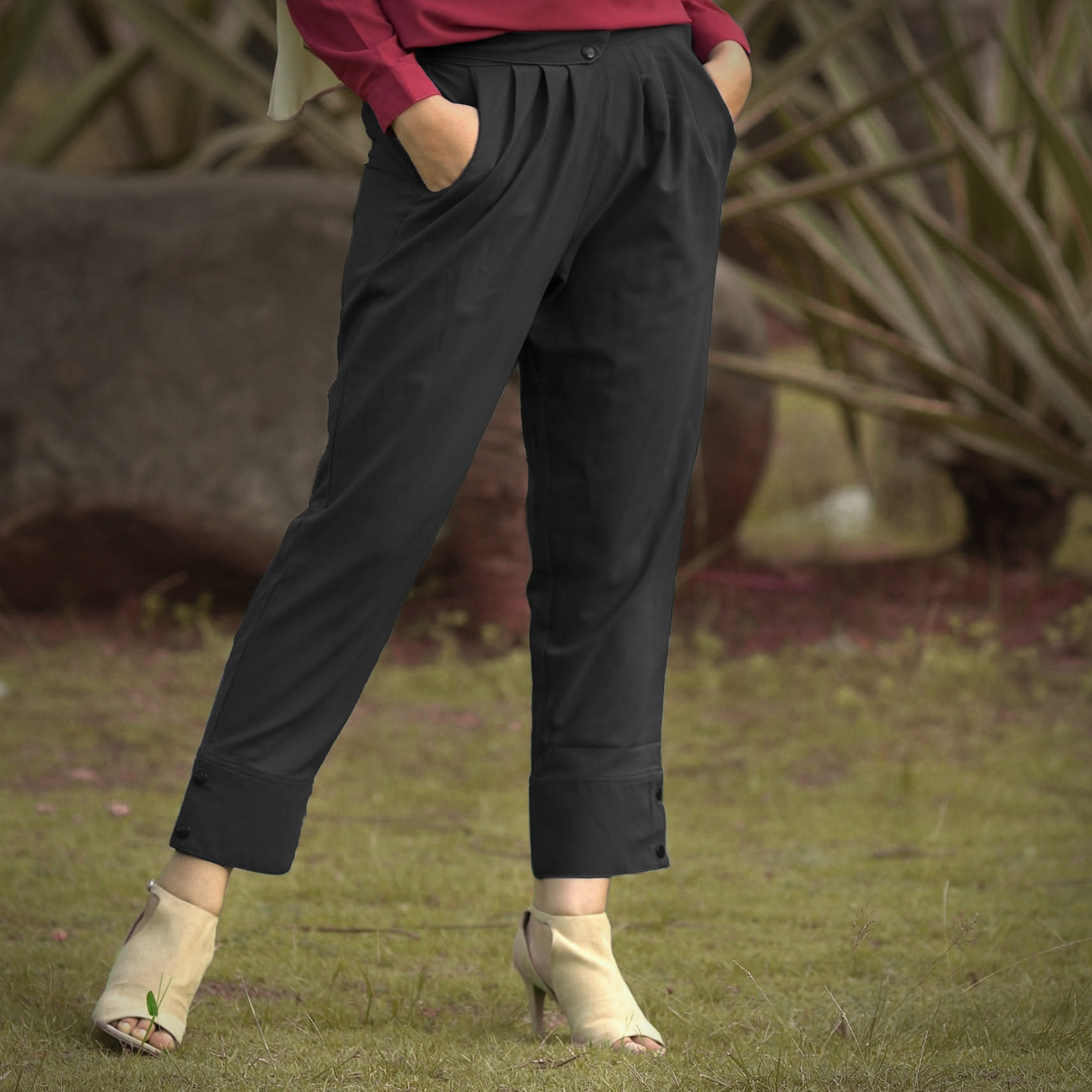 Pakaian Almeira women drape pants APS003