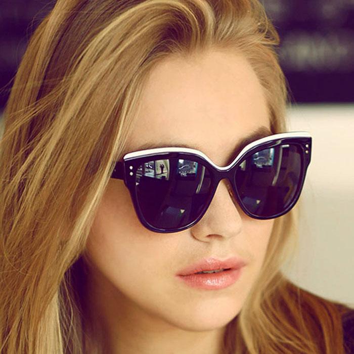 Kacamata Retro baby  cat eye sunglasses J4U026