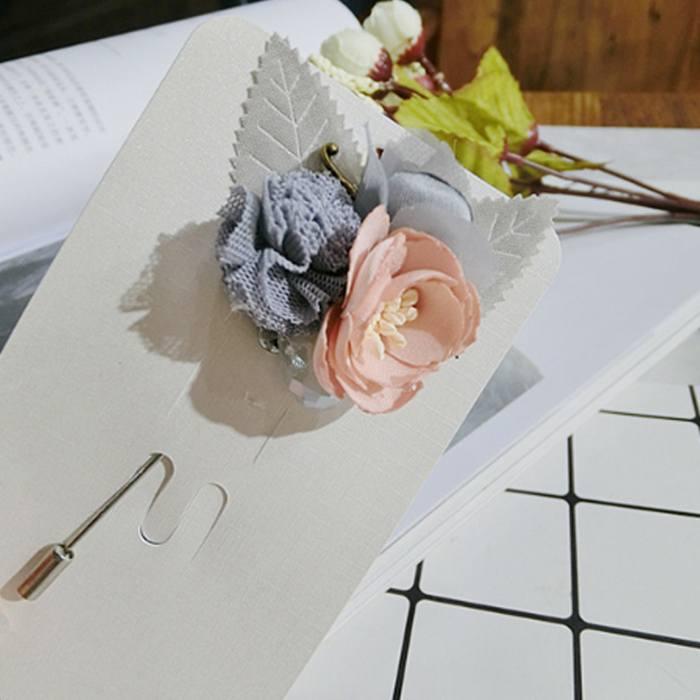 Bross Flower Pin Brooch Collar Needle JU1006