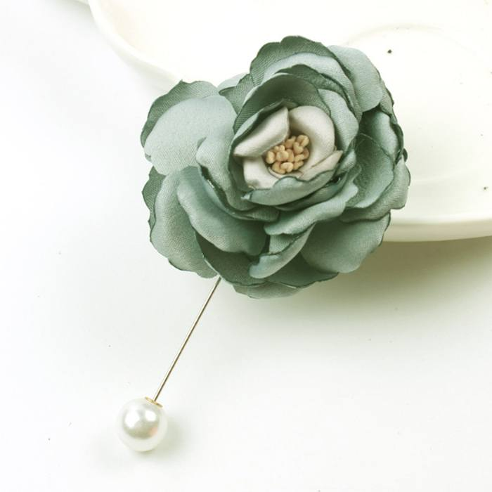 Bross Flower Brooch Shawl JU1024