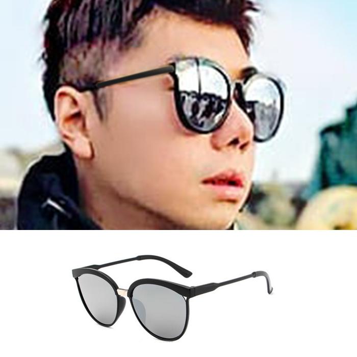 Kacamata Silver Mirror Sunglasses JU1208