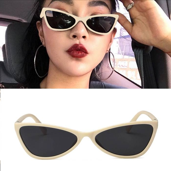 Kacamata retro cat eye star sunglasses JU1220
