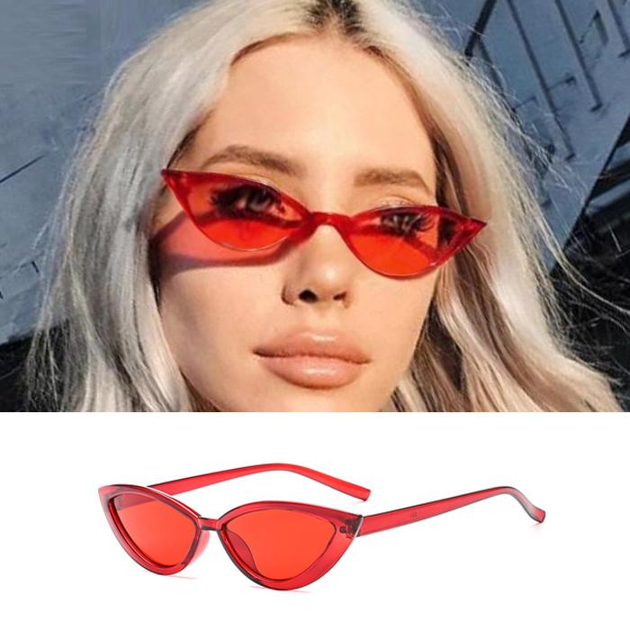 Kacamata Sunglasses Cat Eyes With Concave Shape JU1262
