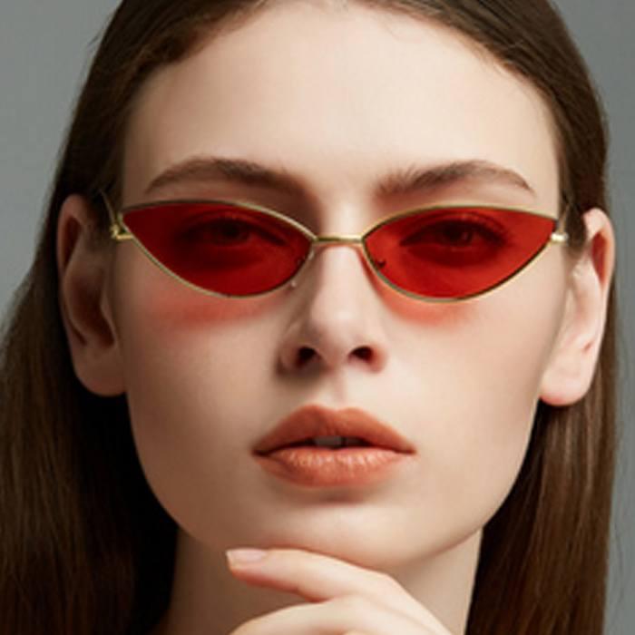 Kacamata Small Lens Cat Eye Sunglasses JU1274