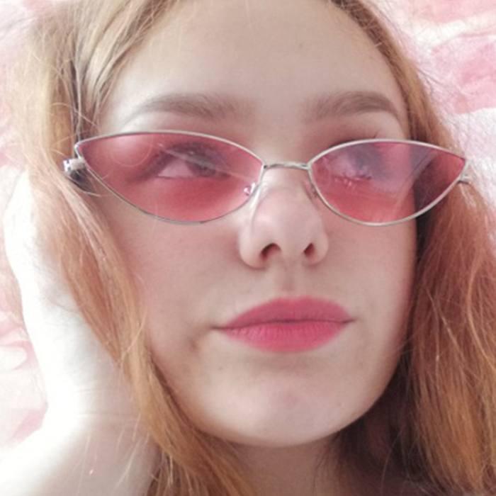 Kacamata Small Lens Cat Eye Sunglasses JU1275