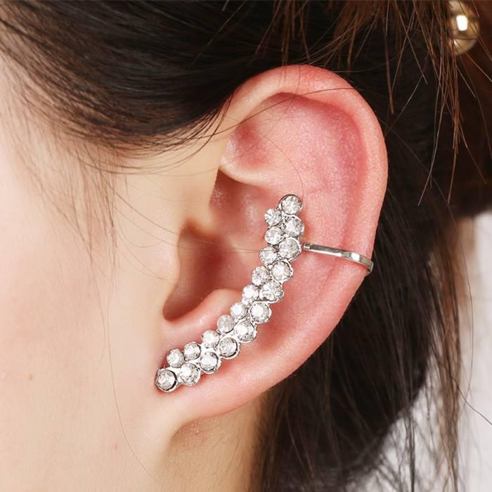 Anting Korea diamonds earrings studded wild JA0040