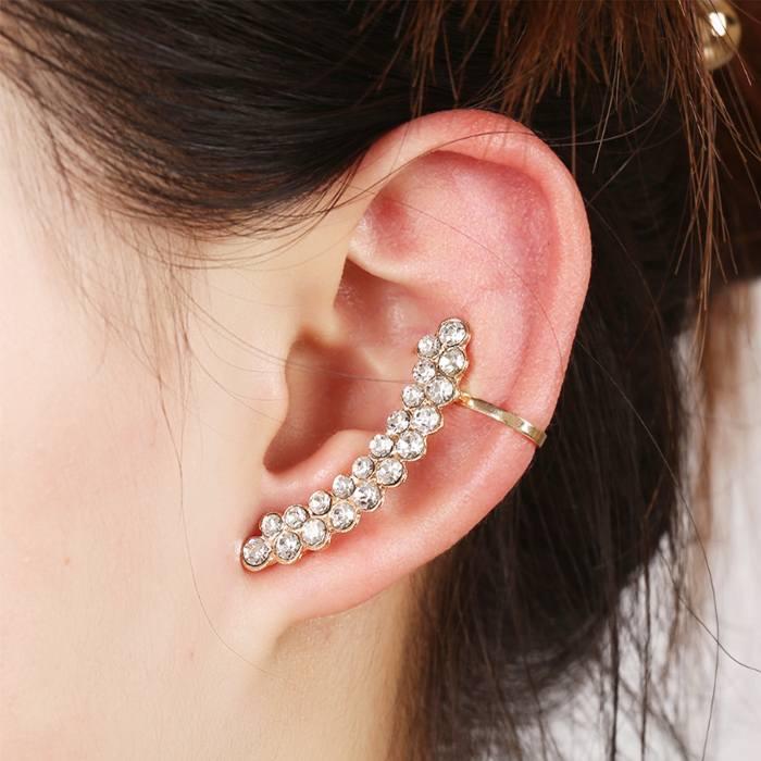 Anting Korea diamonds earrings studded wild JA0041