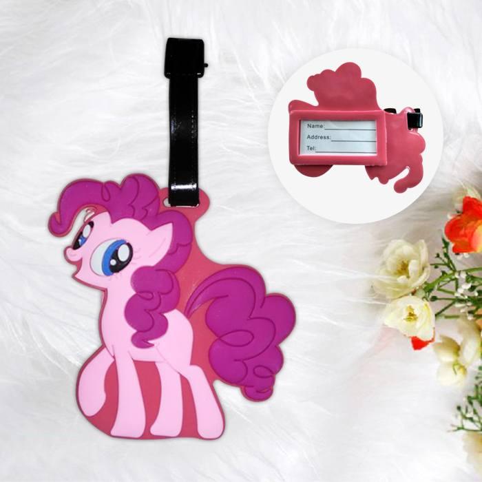Home Health & Beauty Lugage Tag Little Pony Pink PON002