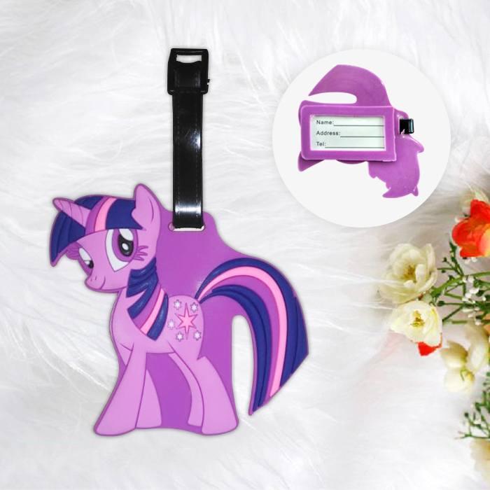 Home Health & Beauty Lugage Tag Little Pony Purple PON003