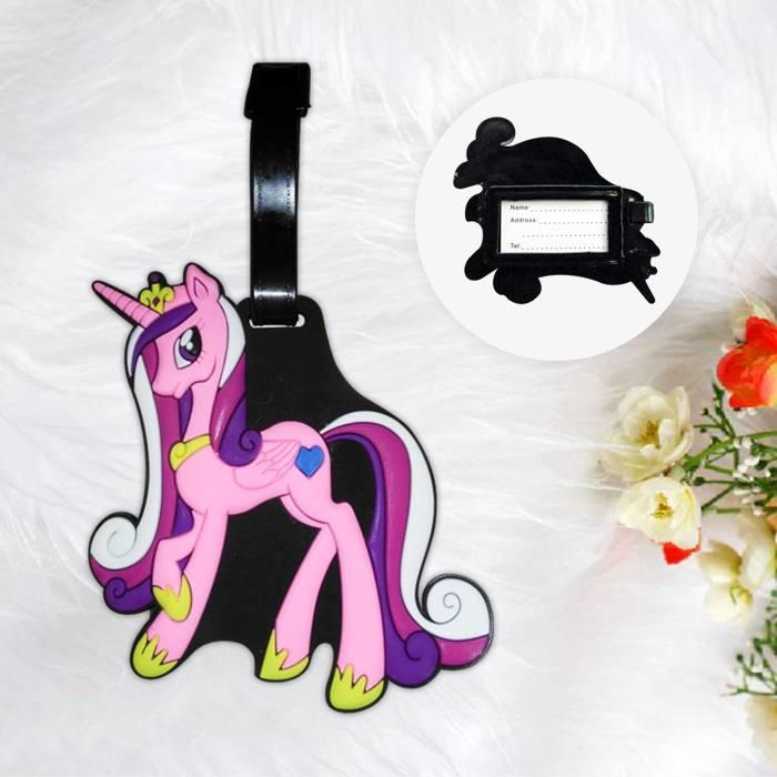 Home Health & Beauty Lugage Tag Little Pony Pink PON006
