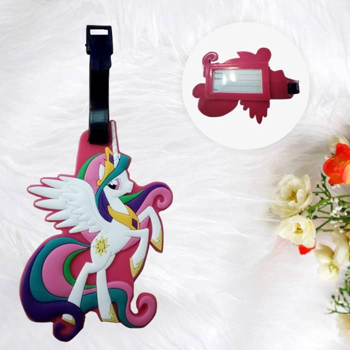 Home Health & Beauty Lugage Tag Little Pony White PON007